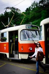 Prags Straßenbahn