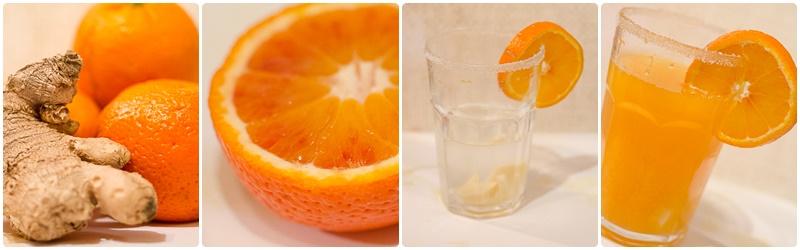 Orangeningwertee